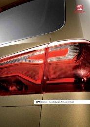 SEAT Alhambra – Ausstattung & Technische Daten