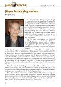 jahn report jahn report - Friedrich-Ludwig-Jahn-Gesellschaft - Seite 4