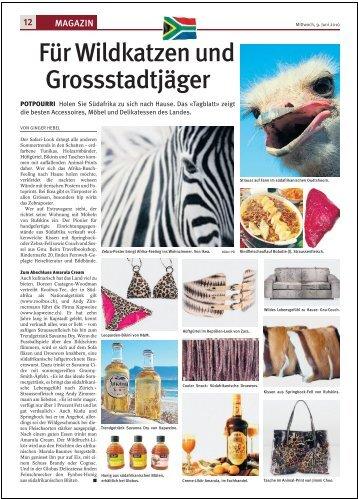 Für Wildkatzen und Grossstadtjäger - KapWeine