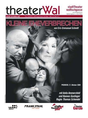 mit Anita Ammersfeld und Hannes Gastinger Regie: Thomas Schendel