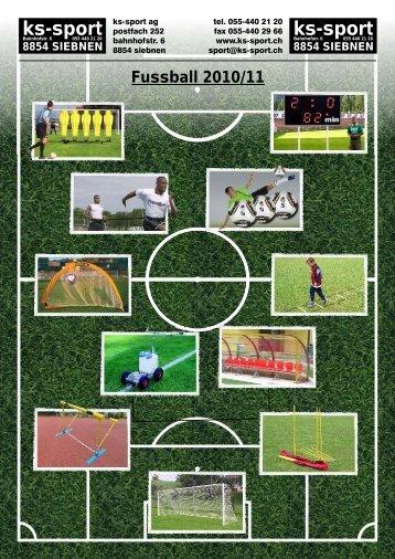 Fussball-Katalog 2010/11 24 Seiten pdf, 2 - ks-sport