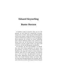 Eduard Keyserling Bunte Herzen