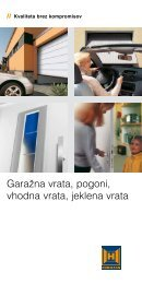 Vrata - Garažna vrata RADOX