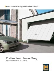 Portões basculantes Berry - EIRINHAS - Portas e Automatismos, Lda