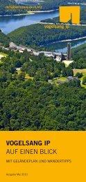 VOGELSANG IP AUF EINEN BLICK - Nationalpark Eifel