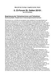 5. CI-Forum 2010 Mitschrift der Vorträge Frau A. Gollnik.d-205 ...