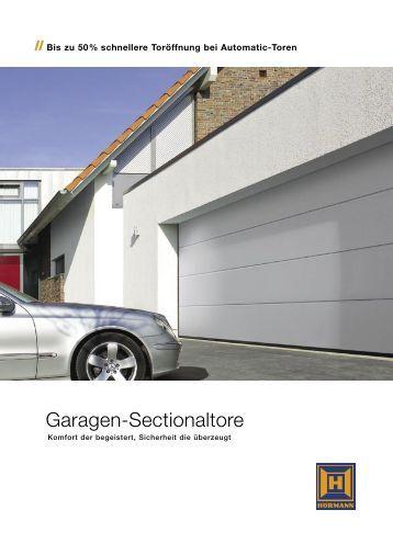 Garagen-Sectionaltore - Schaller & Brunner GmbH