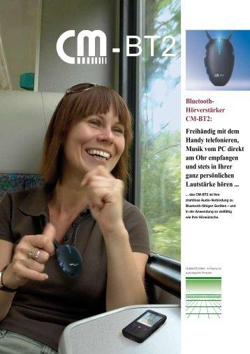 Bluetooth- Hörverstärker CM-BT2: Freihändig mit ... - BHB Batteries