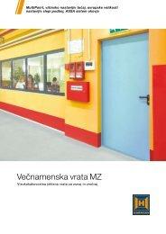 Večnamenska vrata MZ