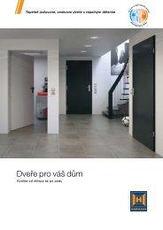Dveře pro váš dům - Hörmann