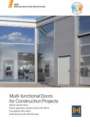 Multi-functional Doors for Construction Projects - RIBA Product ...