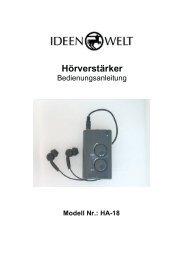 Hörverstärker - JET GmbH