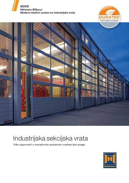 Industrijska sekcijska vrata - Hormann