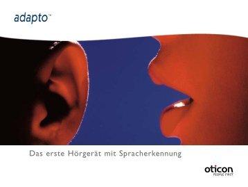 Das erste Hörgerät mit Spracherkennung - Oticon