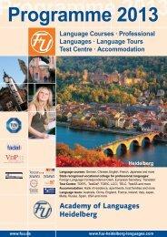 Language Tours Test Centre - F+U Sprachschule Heidelberg
