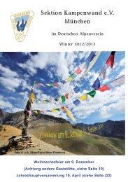 Jugendprogramm Winter 2012/ Frühjahr 2013 - DAV Sektion ...