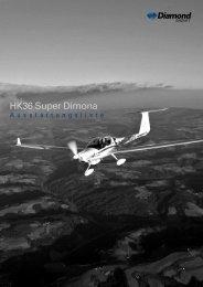 HK36 Super Dimona - Diamond Aircraft