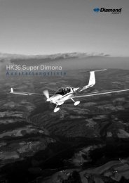 HK36 Super Dimona - Diamond Aircraft