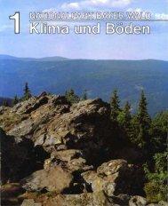 Heft 1 - Klima und Böden (PDF 8 MB - Nationalpark Bayerischer Wald