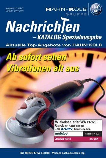 Nachrich en - EN / Hahn+Kolb