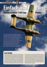 Messerschmitt T-109 von Pichler Zum Vorbild