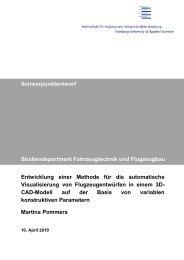 Entwicklung einer Methode für die automatische Visualisierung von ...