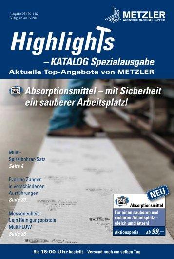 Telefon-Bestellservice: 05522 77963-0 - Metzler