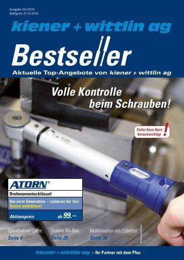 Fax-Bestellservice - E-Shop - Kiener + Wittlin AG