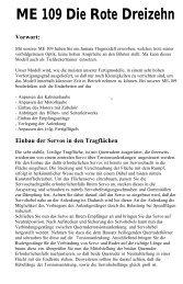 ME 109 Die Rote Dreizehn Vorwort - produktinfo.conrad.com