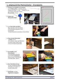 Oberflächenbehandlung, Blatt 1