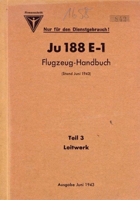 Ju 188 E-I - AVIA