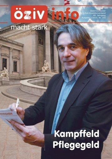 Von Karin Stöckler - Österreichischer Zivil-Invalidenverband
