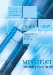 herstellergenauigkeit - Werkzeuge Haller & Nill GmbH