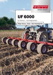 UF 6000 - bei Grimme