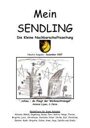 UMWELTFREUNDLICH - Mein Sendling