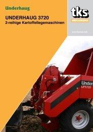 Underhaug 3720 2-reihige Kartoffellegemaschinen - TKS AS