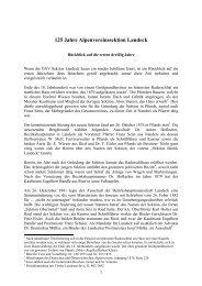 125 Jahre Alpenvereinssektion Landeck