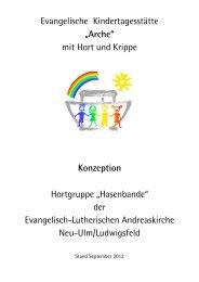 Konzeption Hort - Andreasgemeinde - Telebus