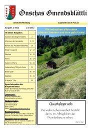 Ausgabe 2/2012 - Gemeinde Laterns