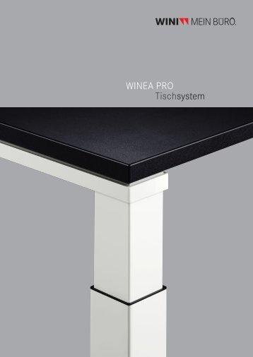 WINEA PRO Tischsystem - Tom Kantoor en Bedrijfsmeubelen