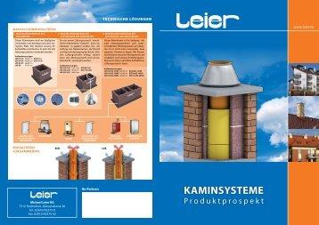 Kaminsysteme - Leier