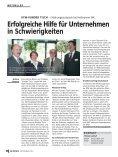 Technologietransfer – Hochschule forscht für ... - w.news - Page 6