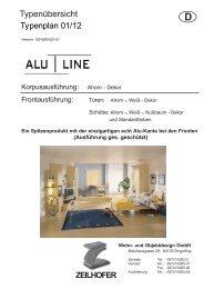Alu - Line, ideal für die Bereiche - Zeilhofer
