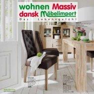 Wildeiche massiv - dansk Möbelimport
