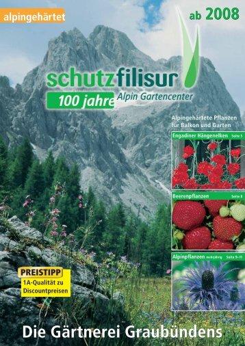 Die Gärtnerei Graubündens - Schutz Samen & Pflanzen AG