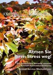 Atmen Sie Ihren Stress weg! Editorial - Kristall-Apotheke