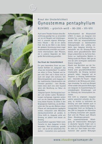 Gaissmayer Stauden 3 free magazines from pflanzenversand gaissmayer de