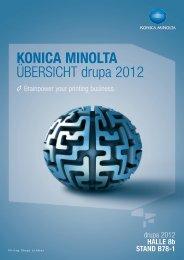 KONICA MINOLTA ÜBERSICHT drupa 2012 - www3.konicaminolt...