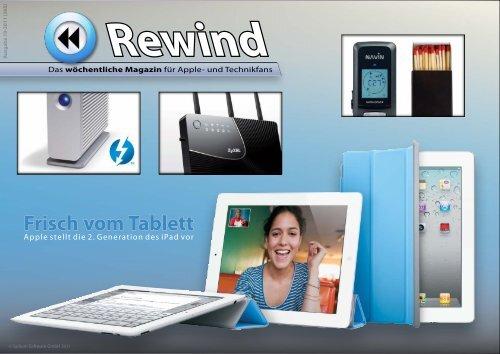 Frisch vom Tablett - MacTechNews.de - Mac Rewind