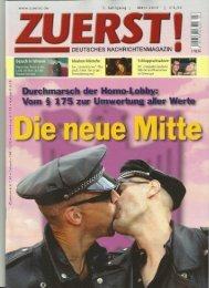 Interview mit Werner Königshofer zum Thema Schwulen-und